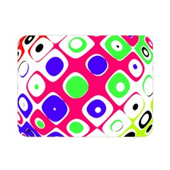 Color Ball Sphere With Color Dots Double Sided Flano Blanket (mini)