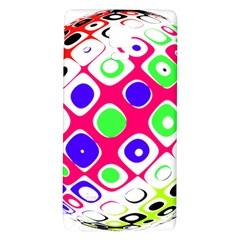 Color Ball Sphere With Color Dots Galaxy Note 4 Back Case