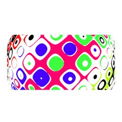 Color Ball Sphere With Color Dots Satin Wrap