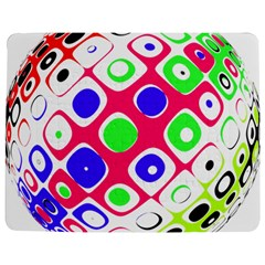 Color Ball Sphere With Color Dots Jigsaw Puzzle Photo Stand (Rectangular)