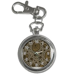 White Vintage Frame With Sepia Targets Key Chain Watches