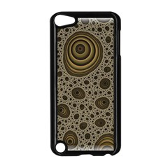 White Vintage Frame With Sepia Targets Apple Ipod Touch 5 Case (black)