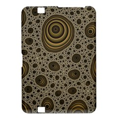 White Vintage Frame With Sepia Targets Kindle Fire HD 8.9