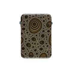 White Vintage Frame With Sepia Targets Apple Ipad Mini Protective Soft Cases