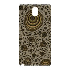 White Vintage Frame With Sepia Targets Samsung Galaxy Note 3 N9005 Hardshell Back Case