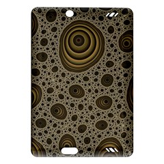 White Vintage Frame With Sepia Targets Amazon Kindle Fire Hd (2013) Hardshell Case