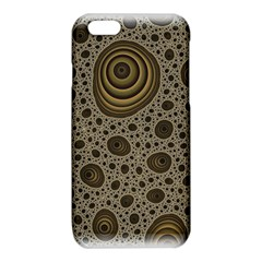 White Vintage Frame With Sepia Targets iPhone 6/6S TPU Case