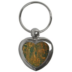 Black And Yellow Color Key Chains (Heart)