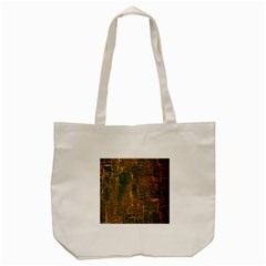 Black And Yellow Color Tote Bag (Cream)