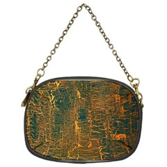 Black And Yellow Color Chain Purses (Two Sides)
