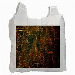 Black And Yellow Color Recycle Bag (Two Side)