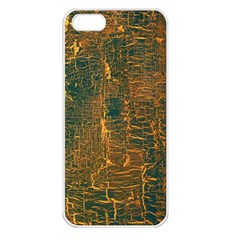 Black And Yellow Color Apple Iphone 5 Seamless Case (white)