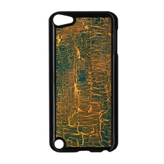 Black And Yellow Color Apple Ipod Touch 5 Case (black)