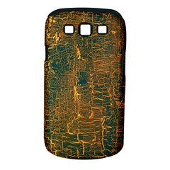 Black And Yellow Color Samsung Galaxy S III Classic Hardshell Case (PC+Silicone)