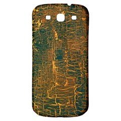 Black And Yellow Color Samsung Galaxy S3 S Iii Classic Hardshell Back Case