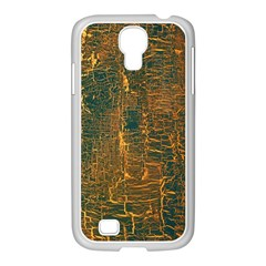 Black And Yellow Color Samsung Galaxy S4 I9500/ I9505 Case (white)