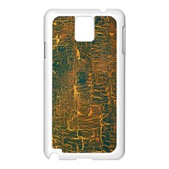Black And Yellow Color Samsung Galaxy Note 3 N9005 Case (white)