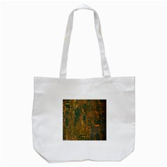 Black And Yellow Color Tote Bag (white)