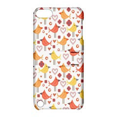 Happy Birds Seamless Pattern Animal Birds Pattern Apple Ipod Touch 5 Hardshell Case With Stand