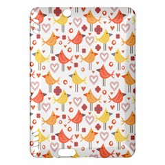Happy Birds Seamless Pattern Animal Birds Pattern Kindle Fire Hdx Hardshell Case
