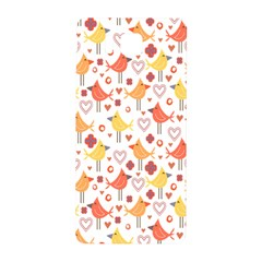 Happy Birds Seamless Pattern Animal Birds Pattern Samsung Galaxy Alpha Hardshell Back Case