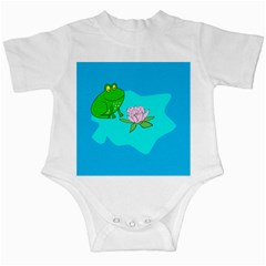 Frog Flower Lilypad Lily Pad Water Infant Creepers