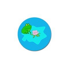 Frog Flower Lilypad Lily Pad Water Golf Ball Marker