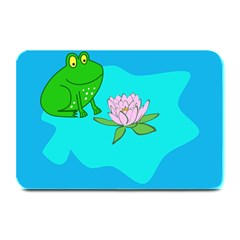 Frog Flower Lilypad Lily Pad Water Plate Mats