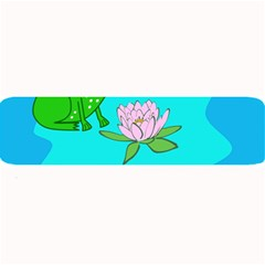 Frog Flower Lilypad Lily Pad Water Large Bar Mats