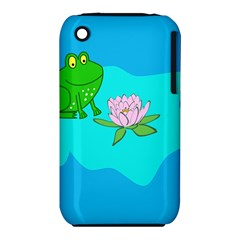 Frog Flower Lilypad Lily Pad Water Iphone 3s/3gs