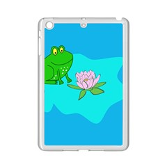 Frog Flower Lilypad Lily Pad Water iPad Mini 2 Enamel Coated Cases