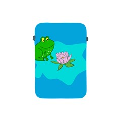 Frog Flower Lilypad Lily Pad Water Apple Ipad Mini Protective Soft Cases