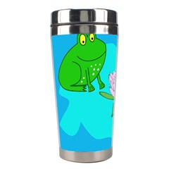 Frog Flower Lilypad Lily Pad Water Stainless Steel Travel Tumblers