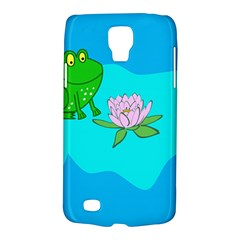 Frog Flower Lilypad Lily Pad Water Galaxy S4 Active