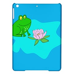 Frog Flower Lilypad Lily Pad Water Ipad Air Hardshell Cases