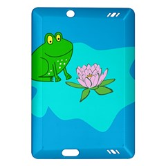 Frog Flower Lilypad Lily Pad Water Amazon Kindle Fire Hd (2013) Hardshell Case