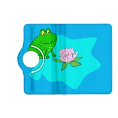Frog Flower Lilypad Lily Pad Water Kindle Fire HD (2013) Flip 360 Case