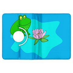 Frog Flower Lilypad Lily Pad Water Kindle Fire Hdx Flip 360 Case