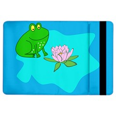 Frog Flower Lilypad Lily Pad Water iPad Air 2 Flip