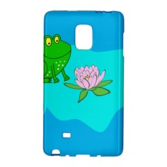 Frog Flower Lilypad Lily Pad Water Galaxy Note Edge