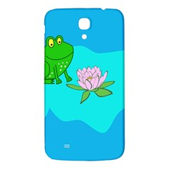 Frog Flower Lilypad Lily Pad Water Samsung Galaxy Mega I9200 Hardshell Back Case
