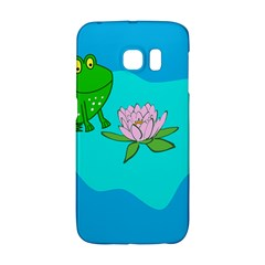 Frog Flower Lilypad Lily Pad Water Galaxy S6 Edge