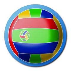 Balloon Volleyball Ball Sport Round Mousepads