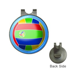 Balloon Volleyball Ball Sport Hat Clips with Golf Markers