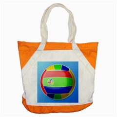 Balloon Volleyball Ball Sport Accent Tote Bag