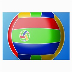 Balloon Volleyball Ball Sport Large Glasses Cloth