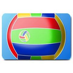 Balloon Volleyball Ball Sport Large Doormat