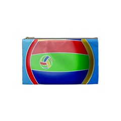 Balloon Volleyball Ball Sport Cosmetic Bag (small)