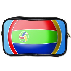 Balloon Volleyball Ball Sport Toiletries Bags 2 Side