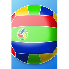 Balloon Volleyball Ball Sport 5.5  x 8.5  Notebooks